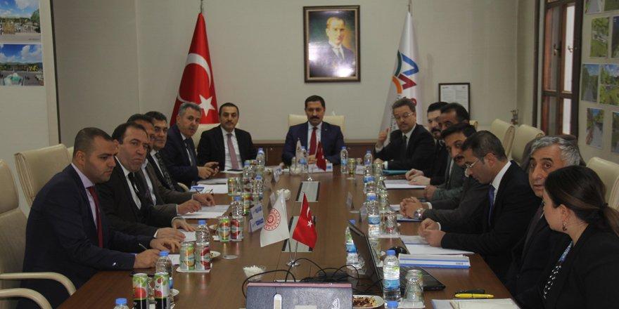 SERKA yönetim kurulu Kars'ta toplandı