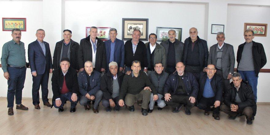 38 yıl önce Kars'ta askerlik yapan 40 arkadaş tekrar bir araya geldi
