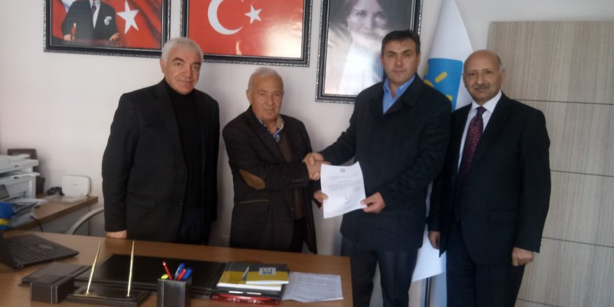 İYİ Parti Susuz İlçe Başkanlığı'na Alper Kıydır atandı