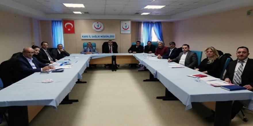 Hastane Müdürleriyle Mali değerlendirme toplantısı yapıldı