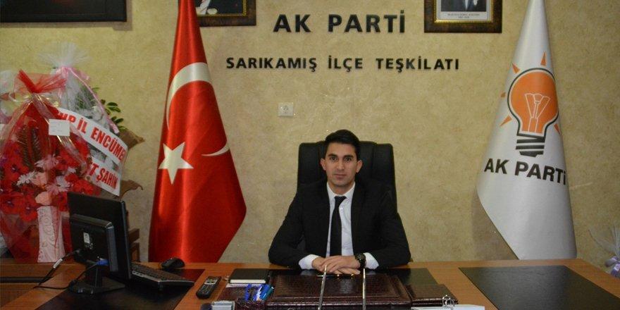 AK Parti Sarıkamış İlçe Başkanı Kenan Doğan, göreve başladı
