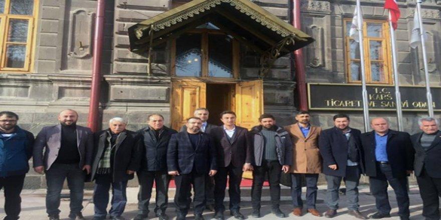 AK Parti'den, Ticaret ve Sanayi Odası ziyareti