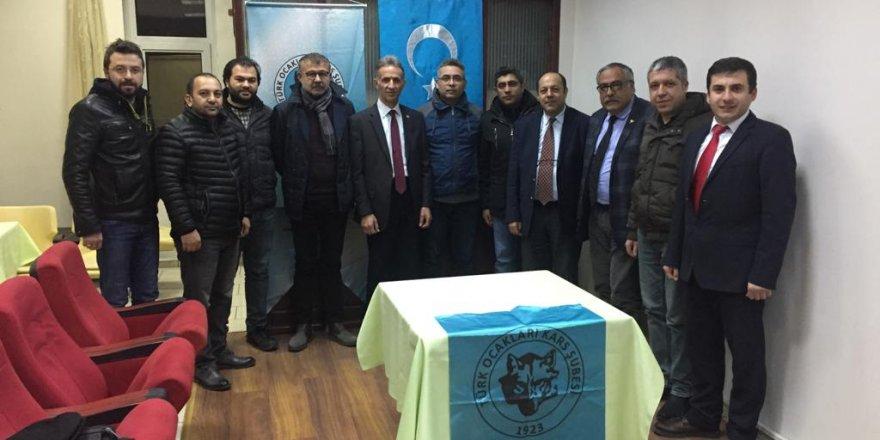 Türk Ocakları Kars Şubesinin 4. Olağan Genel Kurul Toplantısı Yapıldı