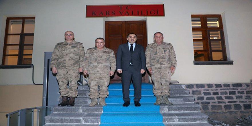 Vali Türker Öksüz, Tümgeneral Halis Zafer Koç'u kabul etti