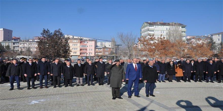 Doğu Cephesi Komutanı Kazım Karabekir Paşa eksi 19 derece soğukta Kars'ta anıldı