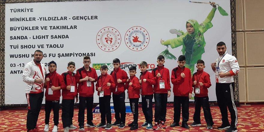Kağızman, Wushu Türkiye Şampiyonası'na damgasını vurdu