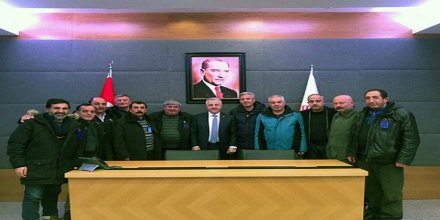Arslan ve Kılıç'ın girişimiyle Spor Toto'dan Kars Amatör Spor Kulüplerine büyük yardım