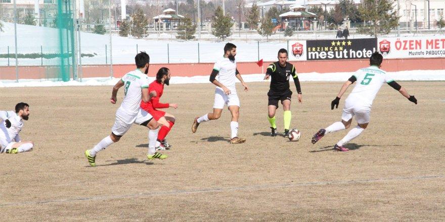 Erzincan Ulalarspor: 2 - Kars 36 Spor: 2