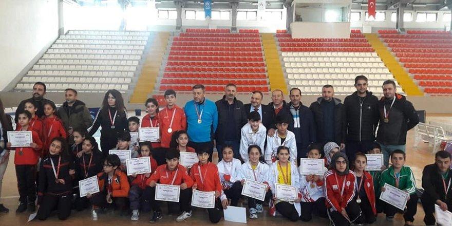 Bölge grup müsabakası Kars'ta yapıldı