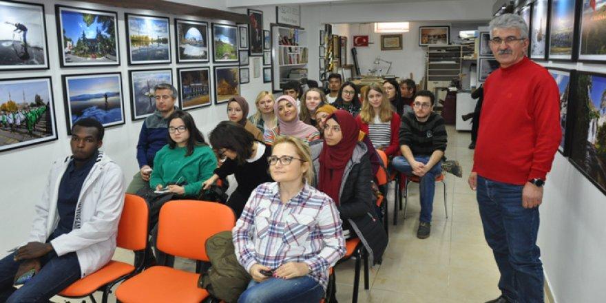 ERASMUS öğrencileri Doğu Ekspresiyle Kars'a geldi