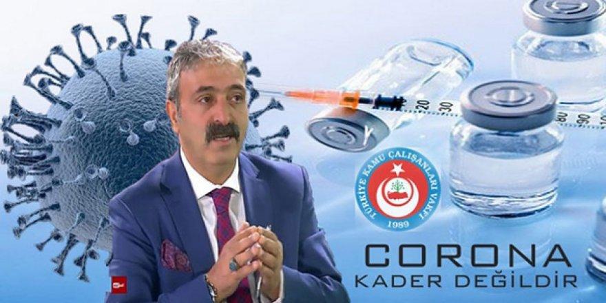 """TÜRKAV Kars İl Başkanı Murat Şanlı: """"Corona kader değildir"""""""