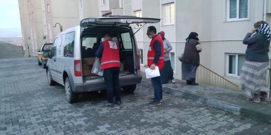 Kars'ta Kızılay'dan anlamlı destek
