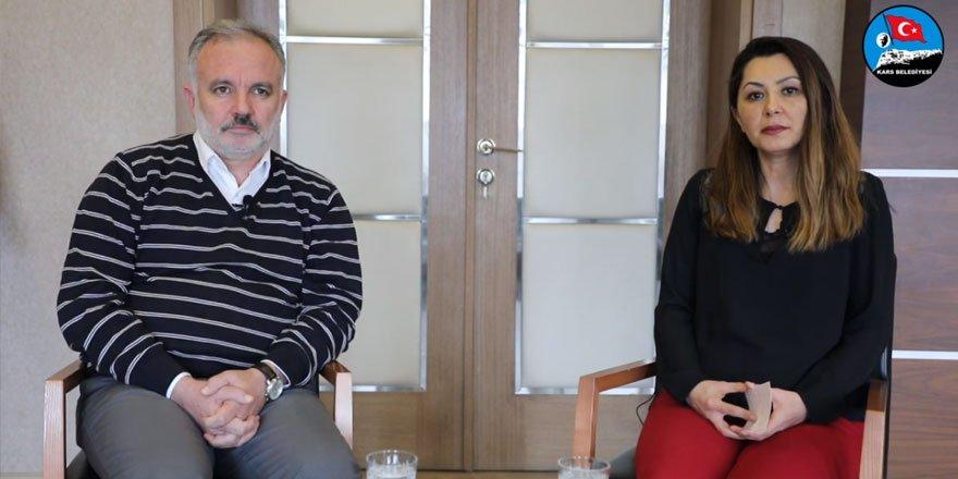 Kars Belediye Eş Başkanları Ayhan Bilgen ve Şevin Alaca Bir Yıllık Görev Sürecini Değerlendirdiler