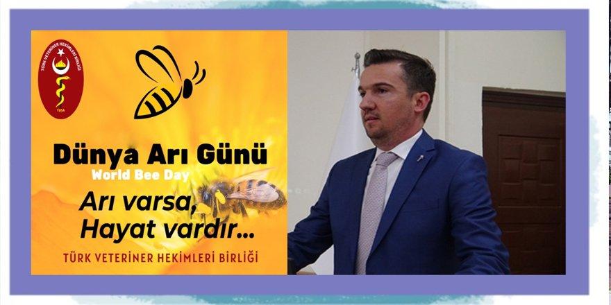 """""""Arıların geleceği insanların geleceği demektir"""""""