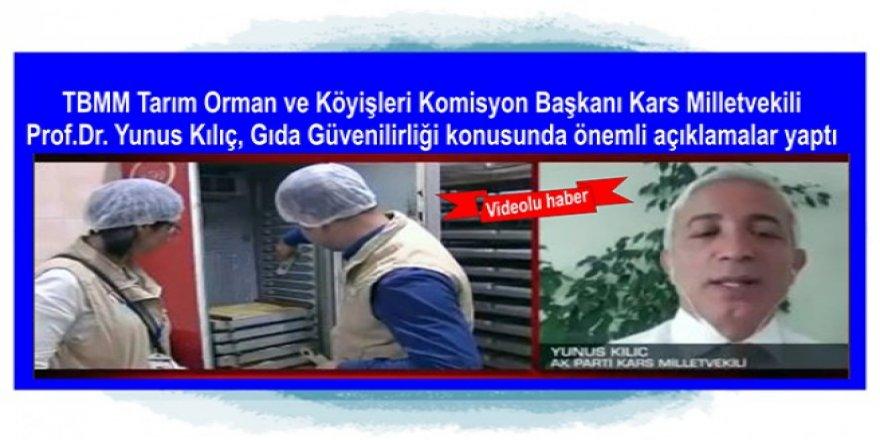 Komisyon Başkanı Yunus Kılıç, CNN Türk Tv canlı yayınına katıldı