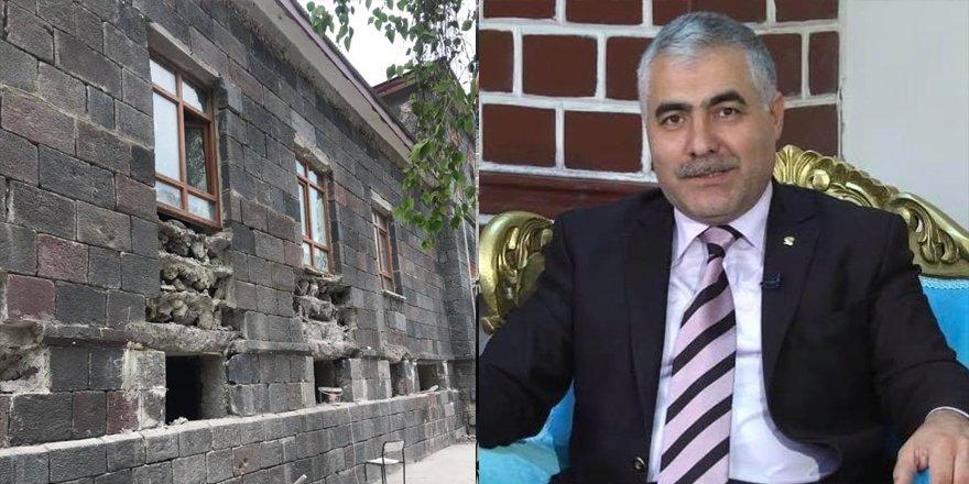 Çetin Adıgüzel'in eski Emniyet Müdürlüğünde restorasyon çalışması paylaşımı
