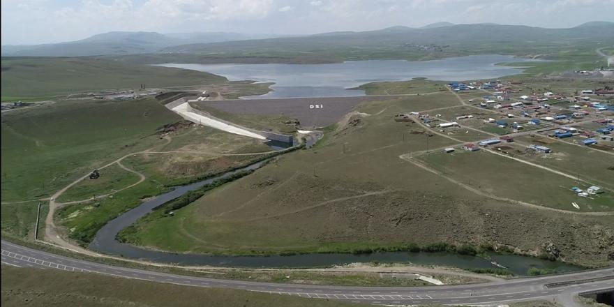 Kars'ın en büyük yatırımlarından olan Kars Barajı hizmete alınıyor