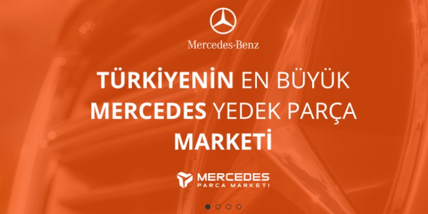 Orjinal Mercedes Yedek Parçalar İçin Mercedes Parça Marketi