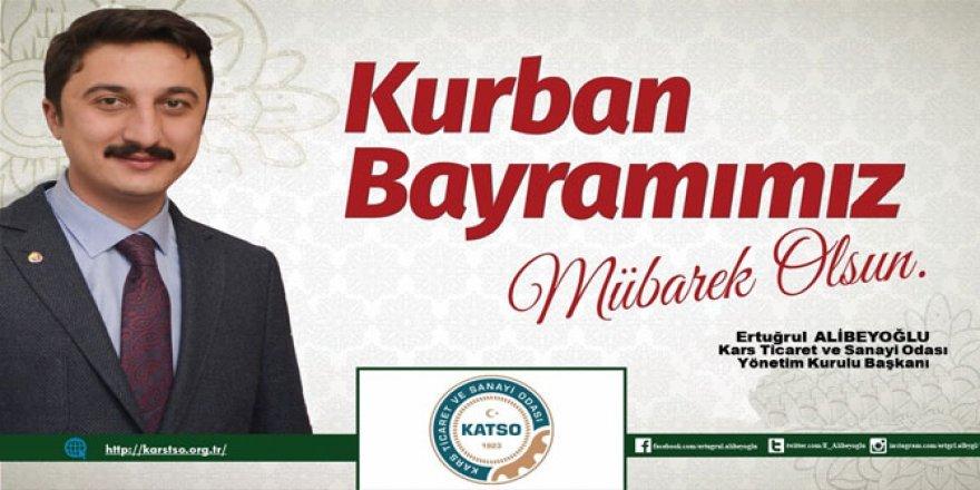 Başkan Alibeyoğlu'nun Kurban Bayramı mesajı
