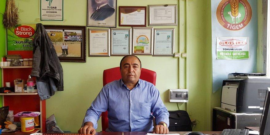 """Gültekin Durmaz : """"Kars'ta Yerli ve Milli Tohumlar Toprakla Buluşuyor"""""""