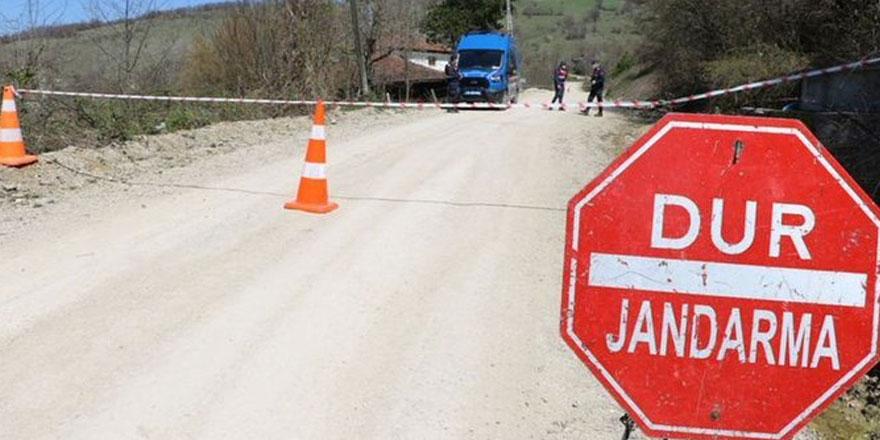 Selim Karahamza Köyü karantinaya alındı