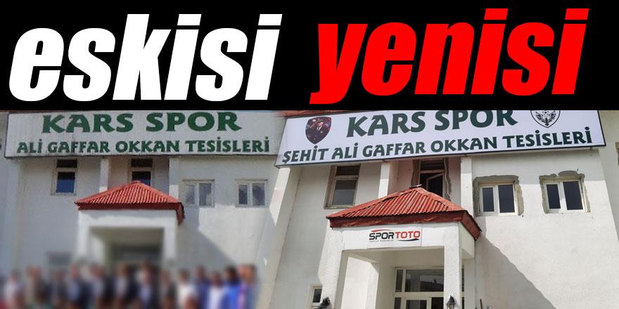 Müdür Sağdıç'ın talimatı yerine getirildi, Şehit Ali Gaffar Okkan'ın ismi tesise asıldı!