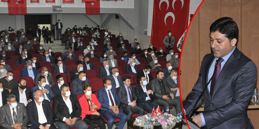 MHP İl Başkanı Tolga Adıgüzel güven tazeledi