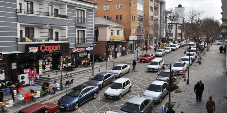 Kars'ta araç sayısı 45 bini aştı