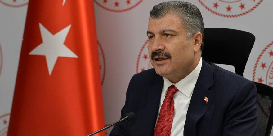 """Sağlık Bakanı Koca: """"Kars'ta vaka sayısında geçen aya göre yüzde 25 azalma var"""""""