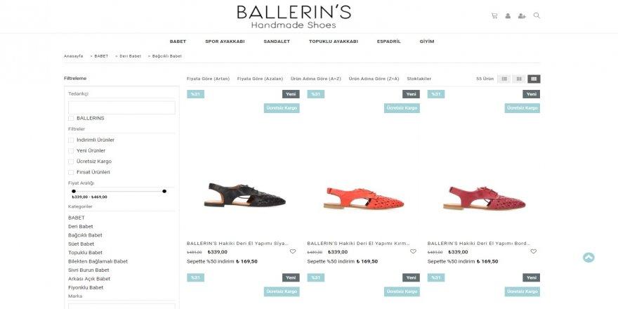 Bağcıklı Babet Modelleri ve Fiyatları Ballerins'de!