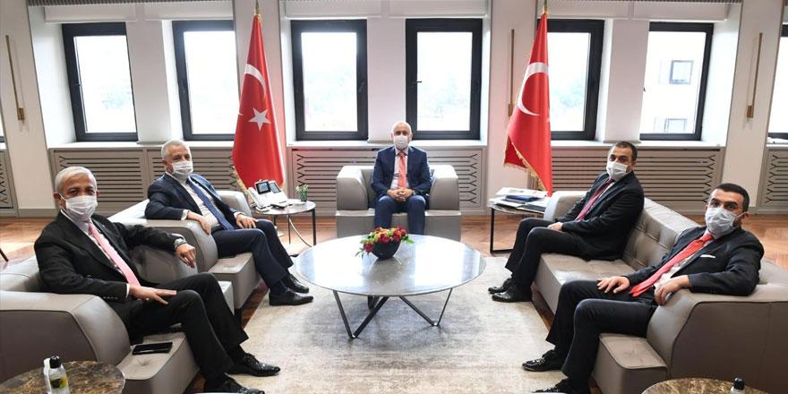Vali Öksüz ve Milletvekillerinin Ankara temasları bugün de devam etti