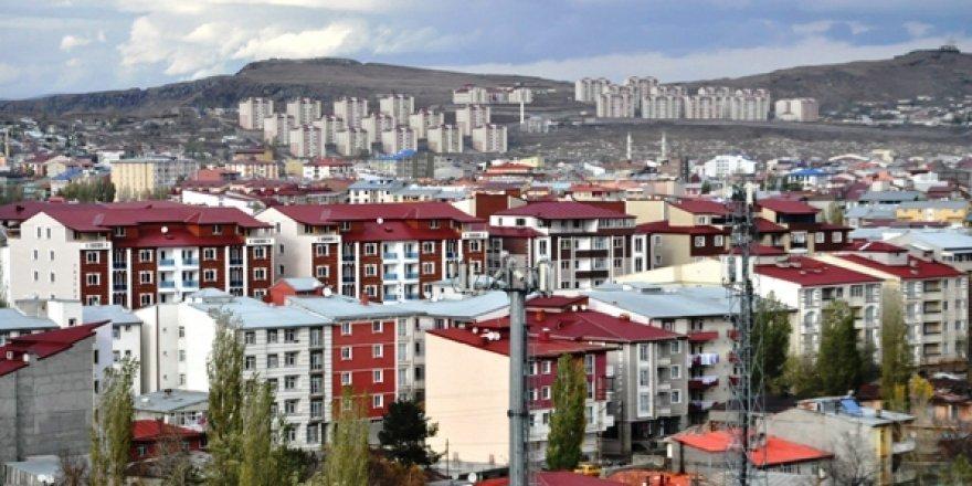 Kars'ta ruhsat verilen daire sayısı artıyor