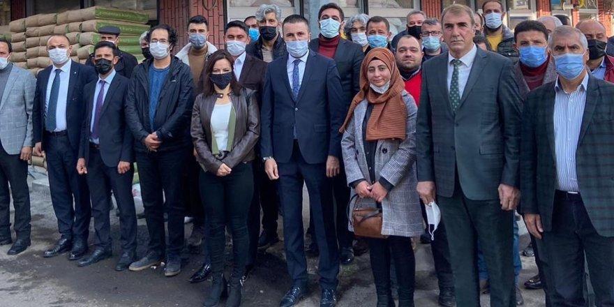 Deva Partisi Kars Merkez İlçe Başkanı İsmail Yüce Güven Tazeledi