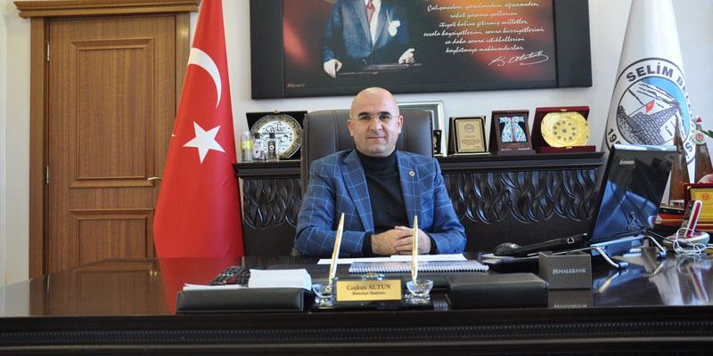 Başkan Altun, 6,5 yılda Selim'in çehresini değiştirdi