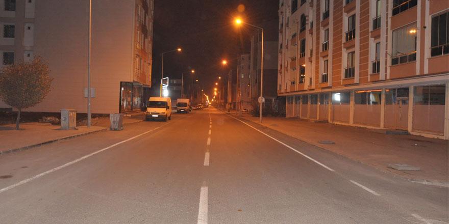 Kars'ta 56 saatlik sokağa çıkma kısıtlaması başladı