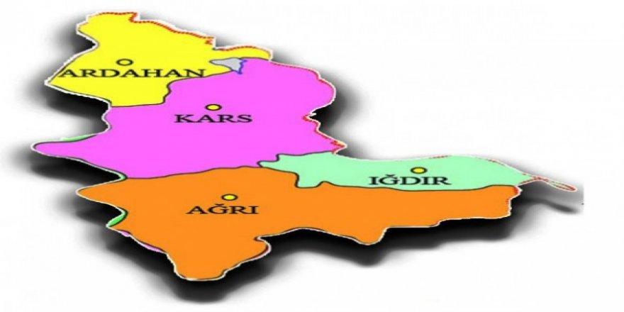 Kars, Iğdır, Ağrı ve Ardahan'da TÜFE aylık ve yıllık arttı