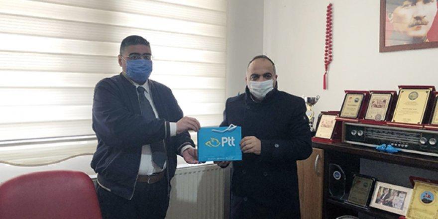 PTT Başmüdürü Halit Aslan, Gazeteciler Cemiyetini ziyaret etti