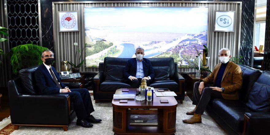 Kars Milletvekilleri Arslan ve Kılıç, söz verilen projeleri takip ediyor