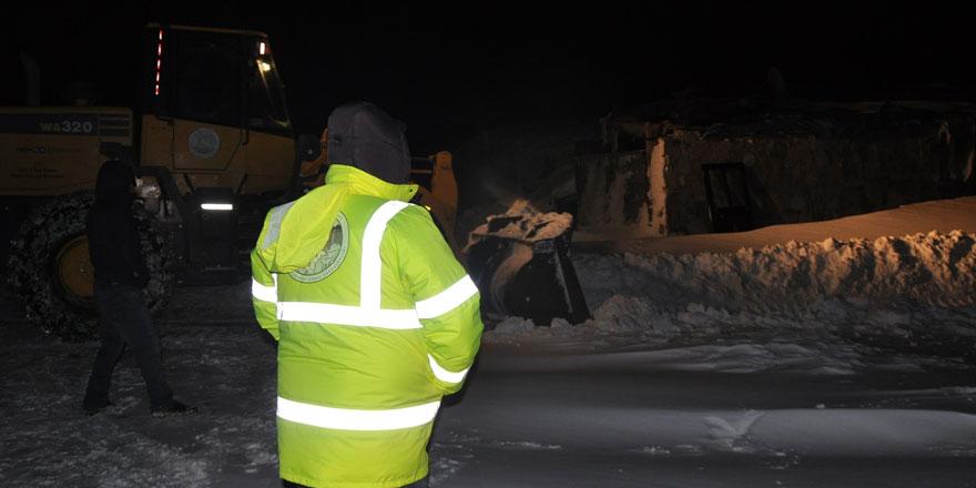 Kars'ta 12 köy yolu ulaşıma kapalı