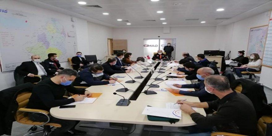 Kars'ta, afet eğitimleri devam ediyor