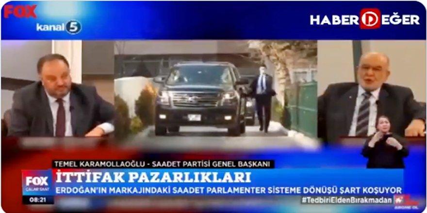 Saadet Partisi lideri Temel Karamollaoğlu, Atıf Özbey'e konuştu