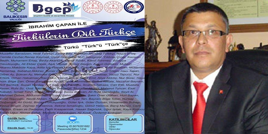 """Türkülerin Dili Türkçe : Türkü, """"Türk""""ü, """"Türk""""çe"""