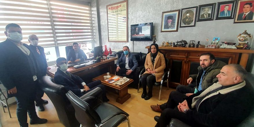 AK Parti Tanıtım ve Medya Başkanlığı'ndan gazetekars.com'a ziyaret