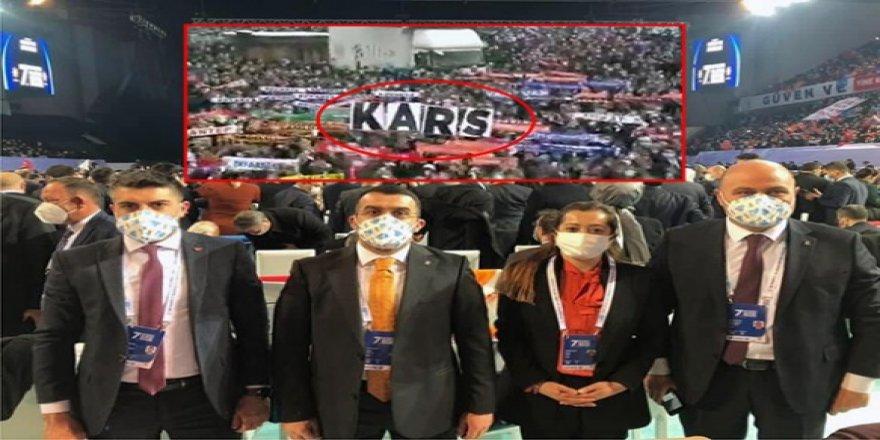 AK Parti Büyük Kongresinde Kars Türkiye'de gündem oldu