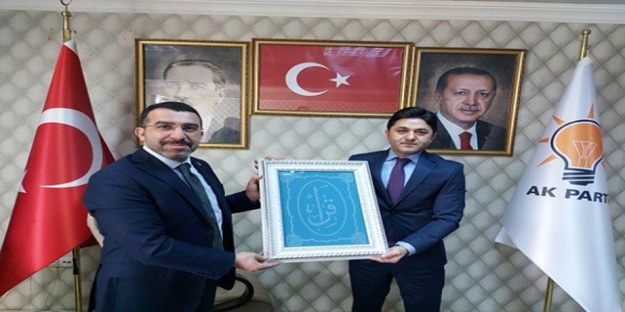 MHP'den AK Parti Kars İl Başkanlığına iadeyi ziyaret