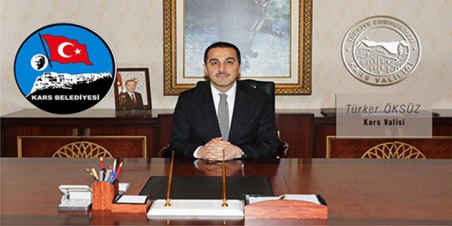 Kars Valisi ve Belediye Başkanı Türker Öksüz'ün Avukatlar Günü mesajı