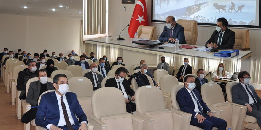 Koordinasyon Kurulu, Doğu başkanlığında yapıldı