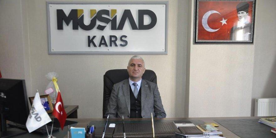 Kars MÜSİAD Başkanı istifa etti