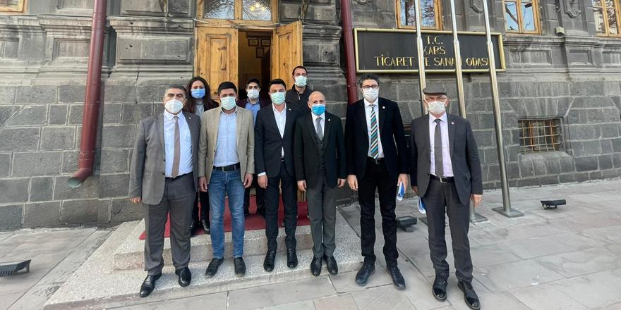 CHP heyeti, Kars'ın sorunlarını Alibeyoğlu'ndan dinledi!
