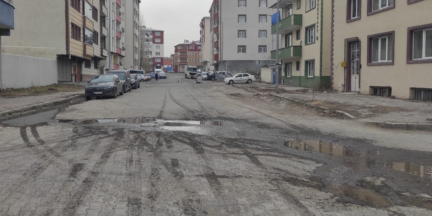 Kars'ta cezalandırılmış cadde!